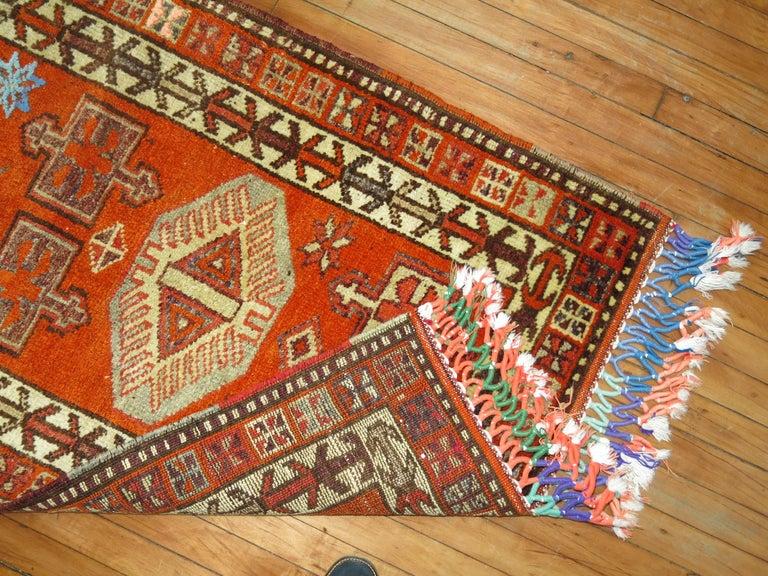 Bohemian Vintage Turkish Anatolian Runner For Sale