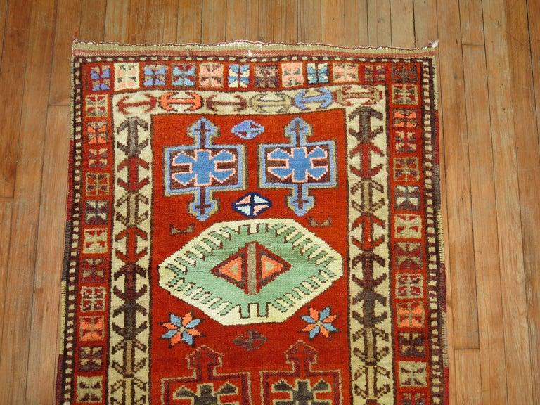 Vintage Turkish Anatolian Runner For Sale 1