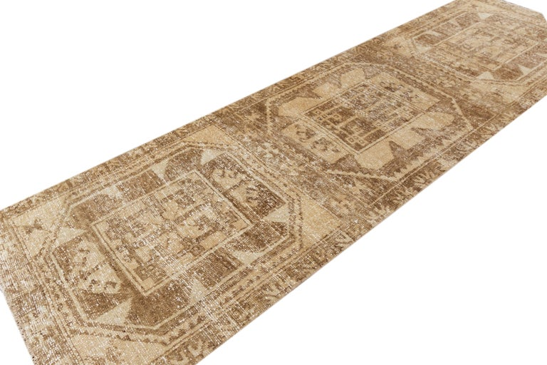 Vintage Turkish Anatolian Runner Rug In Good Condition For Sale In Norwalk, CT