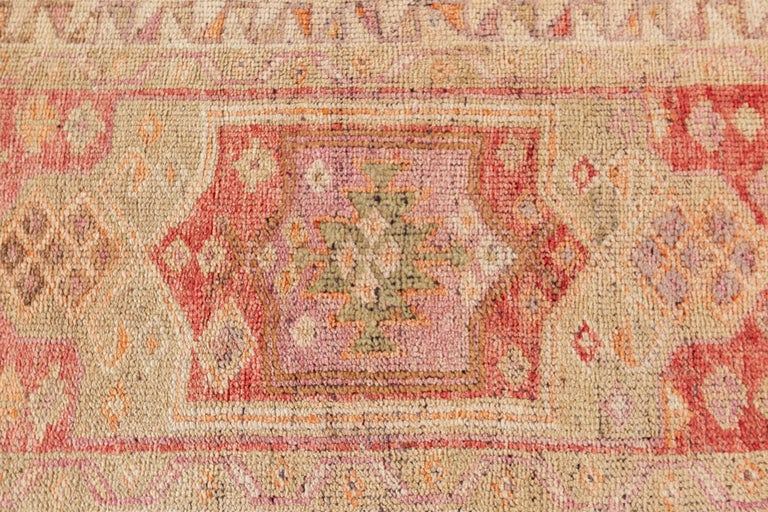 Wool Vintage Turkish Anatolian Runner Rug For Sale