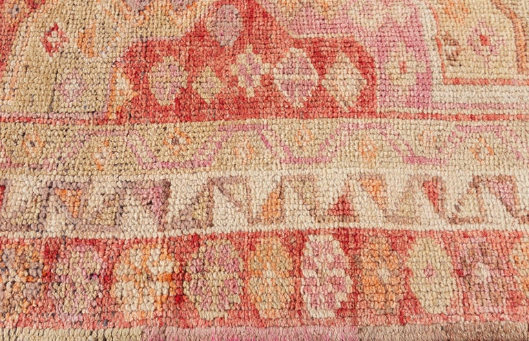 Vintage Turkish Anatolian Runner Rug For Sale 1