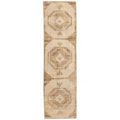 Vintage Turkish Anatolian Runner Rug