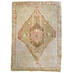 Vintage Turkish Beige Rug