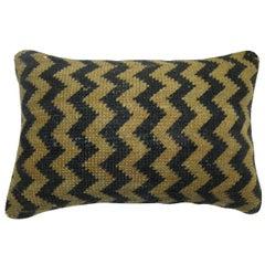 Vintage Turkish Deco Rug Pillow