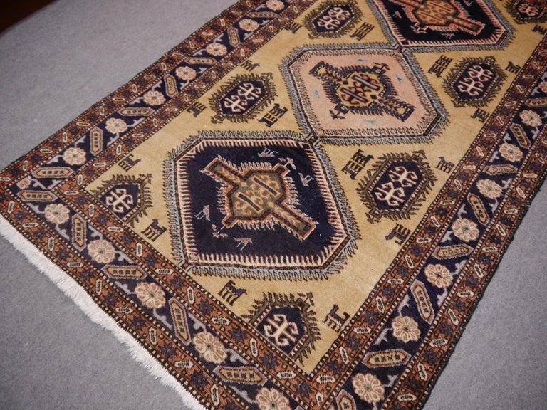Tribal Vintage Turkish East Anatolian Rug For Sale