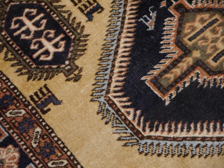 Mid-20th Century Vintage Turkish East Anatolian Rug For Sale