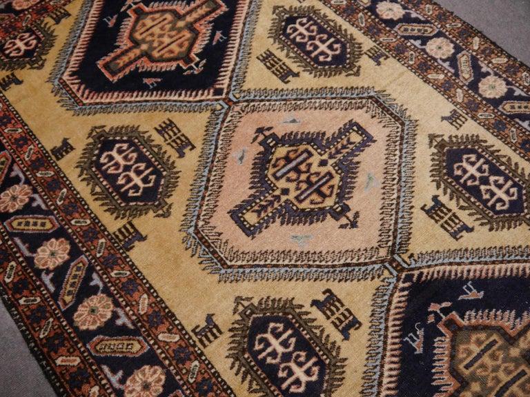 Wool Vintage Turkish East Anatolian Rug For Sale