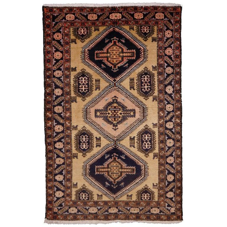 Vintage Turkish East Anatolian Rug For Sale