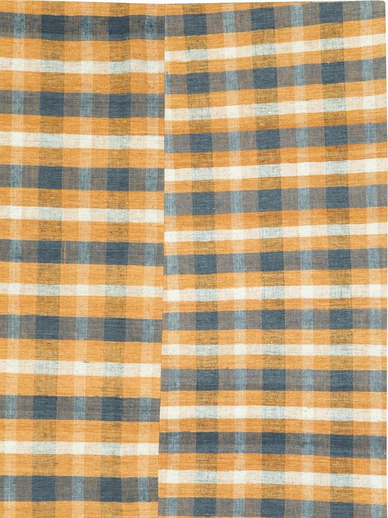 Hand-Woven Vintage Turkish Flat-Weave Kilim For Sale