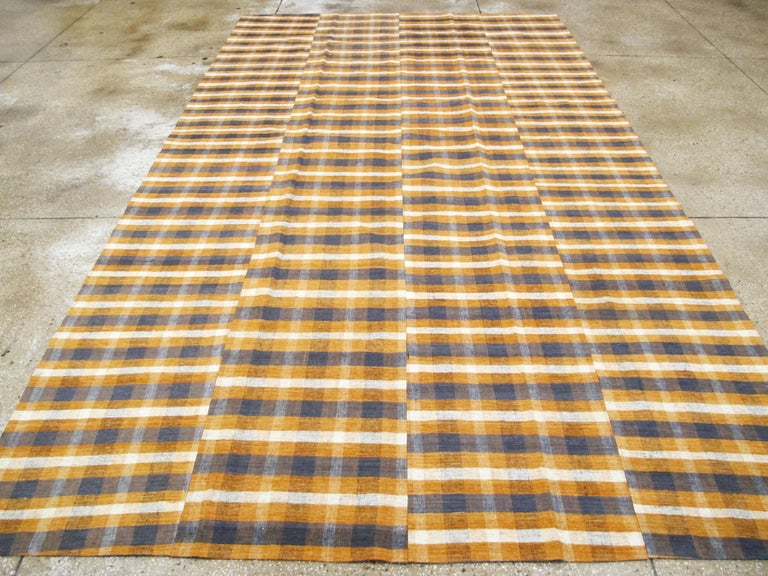 Vintage Turkish Flat-Weave Kilim In Excellent Condition For Sale In New York, NY