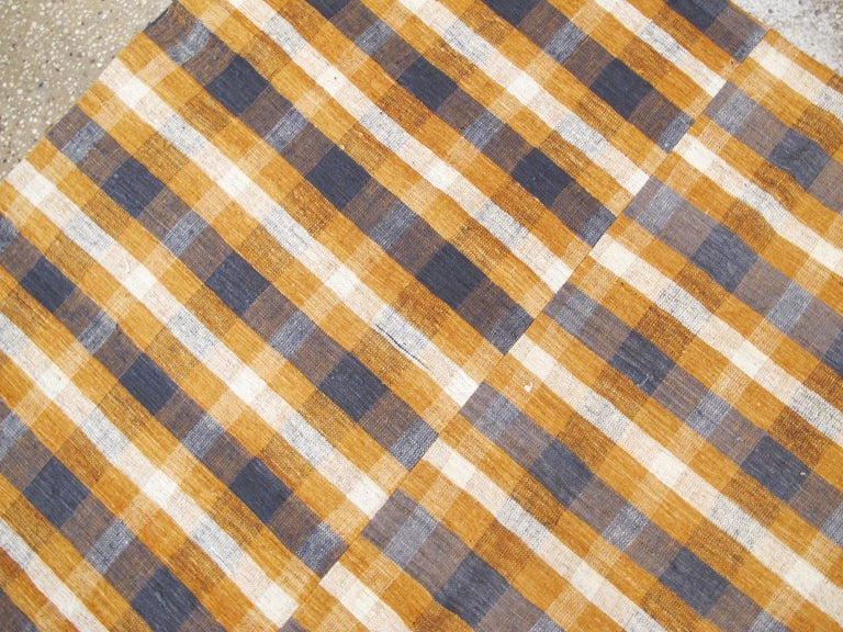 Vintage Turkish Flat-Weave Kilim For Sale 1