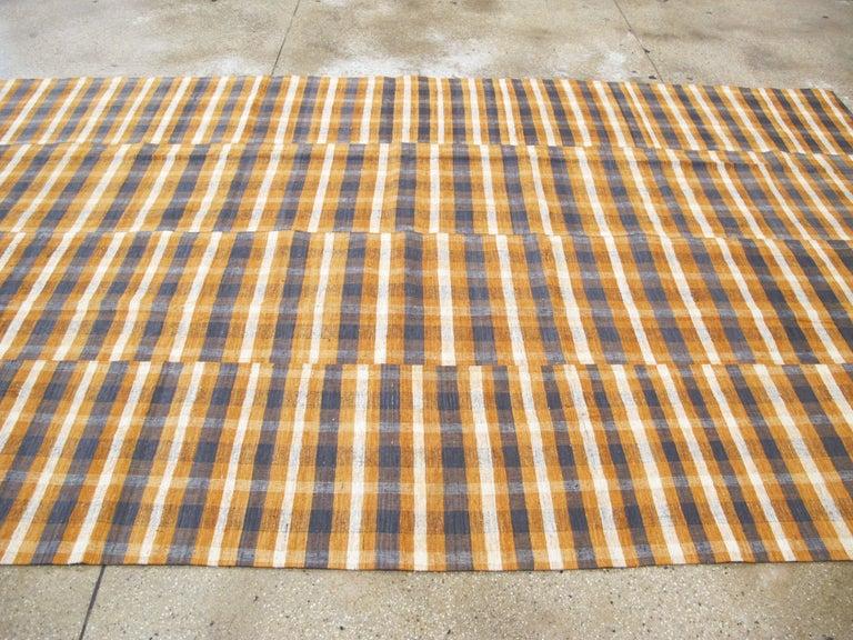 Vintage Turkish Flat-Weave Kilim For Sale 2
