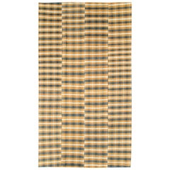 Vintage Turkish Flat-Weave Kilim