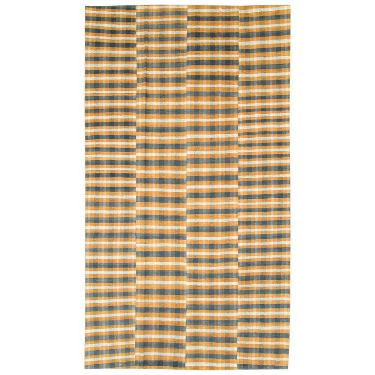 Vintage Turkish Flat-Weave Kilim For Sale