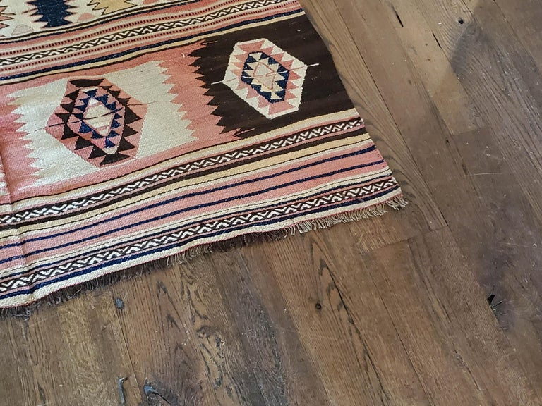 Vintage Turkish Kilim In Excellent Condition For Sale In East Hampton, NY