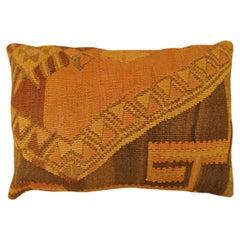 Vintage Turkish Kilim Rug Pillow