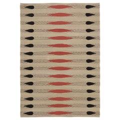 Vintage Turkish Kilim Rug with Modern Navajo Style