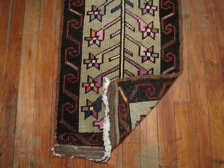Bohemian Vintage Turkish Konya Rug For Sale