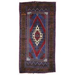 Vintage Turkish Konya Taspinar Rug with Venetian Renaissance Style