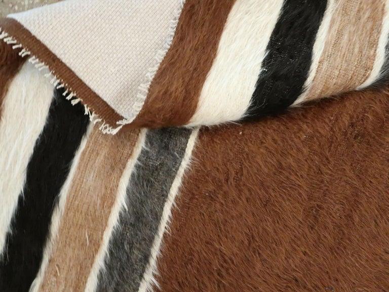 Vintage Turkish Mohair Rug For Sale 3