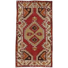 Türkische Vintage Oushak Teppich