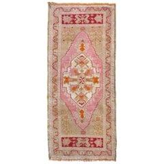 Vintage Turkish Pink Runner