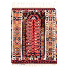 Vintage Turkish Prayer Kilim
