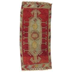 Vintage Turkish Red Runner