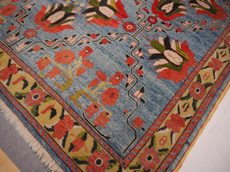 Wool Vintage Turkish Rug For Sale