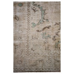 Vintage Turkish Rug in Natural Tones