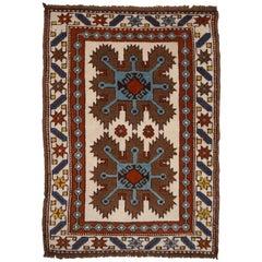 Türkischer Vintage Teppich im Kazak Stil