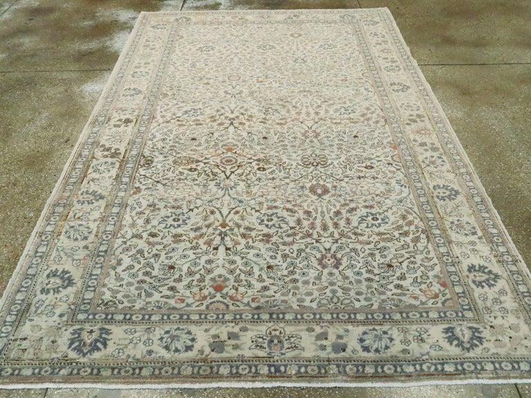 Hand-Knotted Vintage Turkish Sivas Carpet For Sale