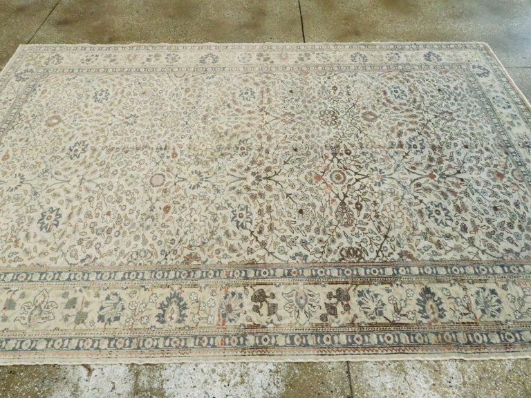 Vintage Turkish Sivas Carpet For Sale 1