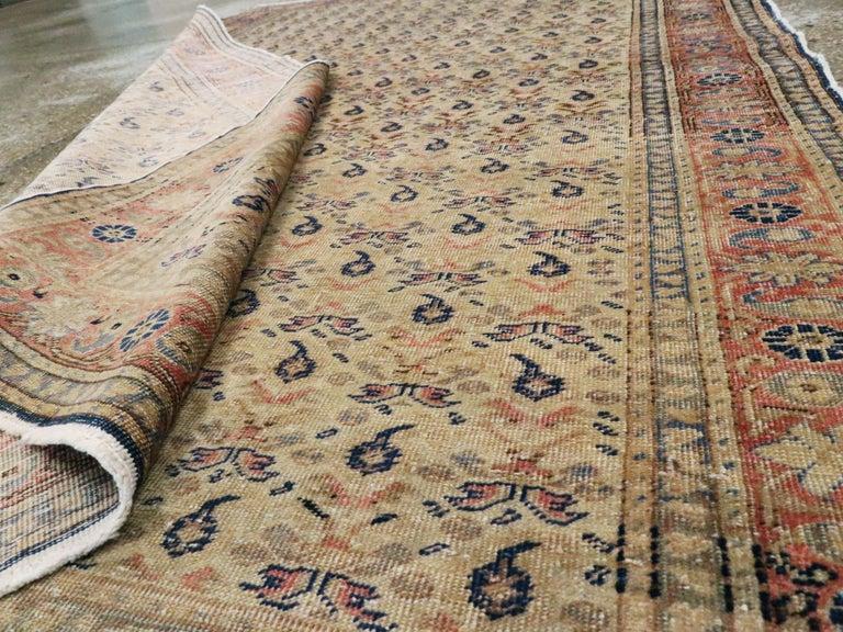 Vintage Turkish Sivas Accent Rug For Sale 1