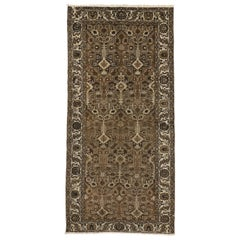 Vintage Turkish Sivas Runner with Transitional William and Mary Style
