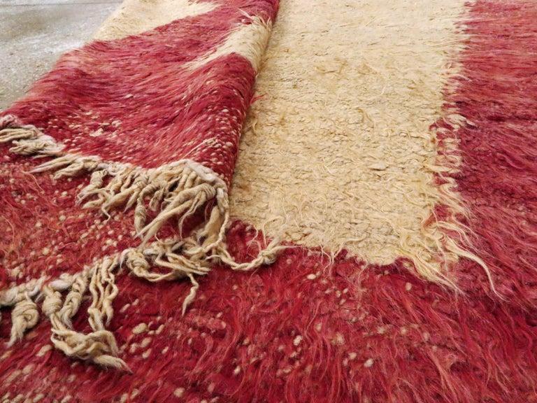 Vintage Turkish Tulu Rug For Sale 7