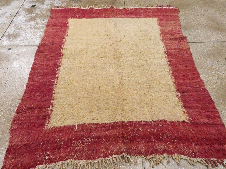 Vintage Turkish Tulu Rug For Sale 1