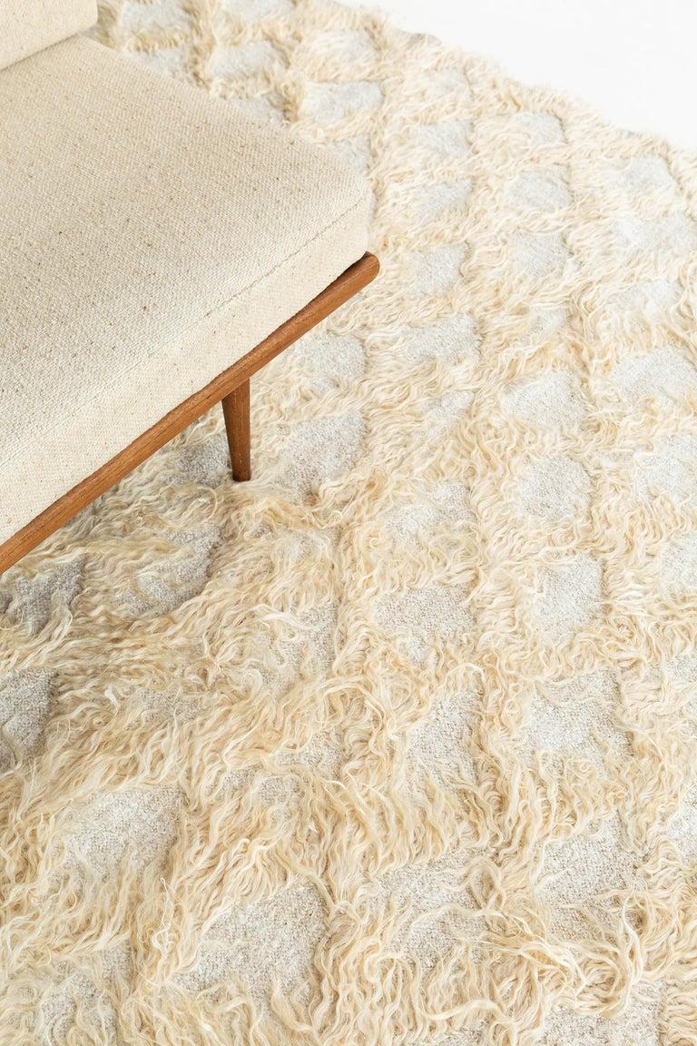 Wool Vintage Turkish Tulu Rug For Sale