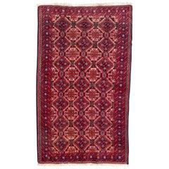 Vintage Turkmen Baluch Rug