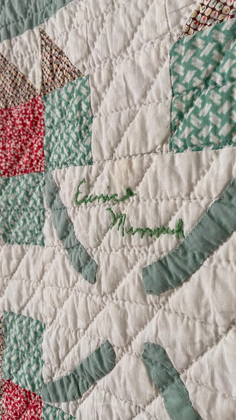 Vintage Turquoise Patchwork