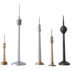 Vintage TV Tower Model Collection