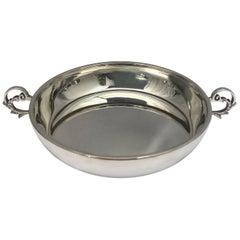 Vintage Two Handled Silver Asprey Dish