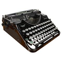 Vintage Typewriter Wanderer Continental, 1935