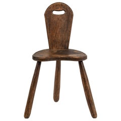 Vintage Tyrolean Style Chair