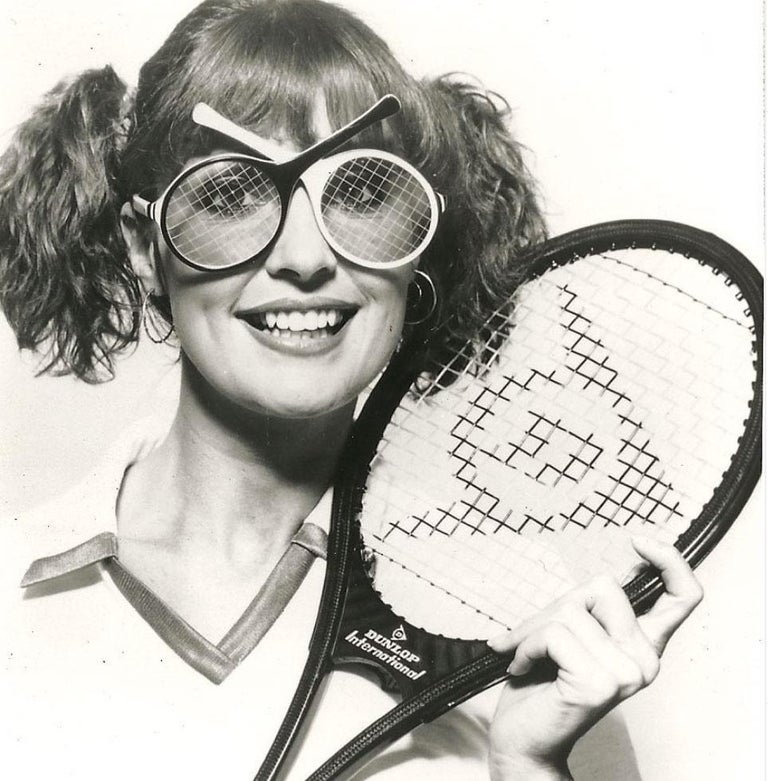 Vintage Ultra Rare Oliver Goldsmith Tennis Racquets 1985 England Sunglasses For Sale 2