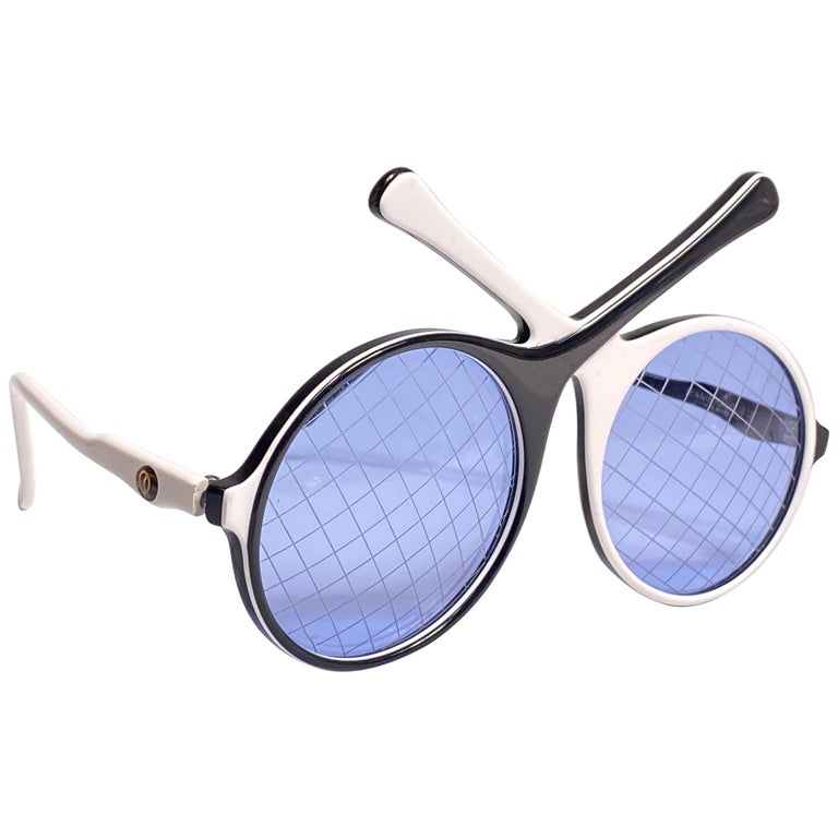 Vintage Ultra Rare Oliver Goldsmith Tennis Racquets 1985 England Sunglasses For Sale