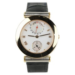Vintage Ulysse Nardin Isaac Newton 18k and Stainless Steel Automatic Wristwatch