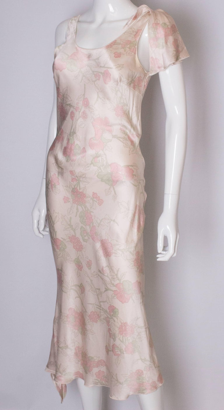 Vintage Ungaro Silk Slip Dress or Nightdress In Good Condition For Sale In London, GB