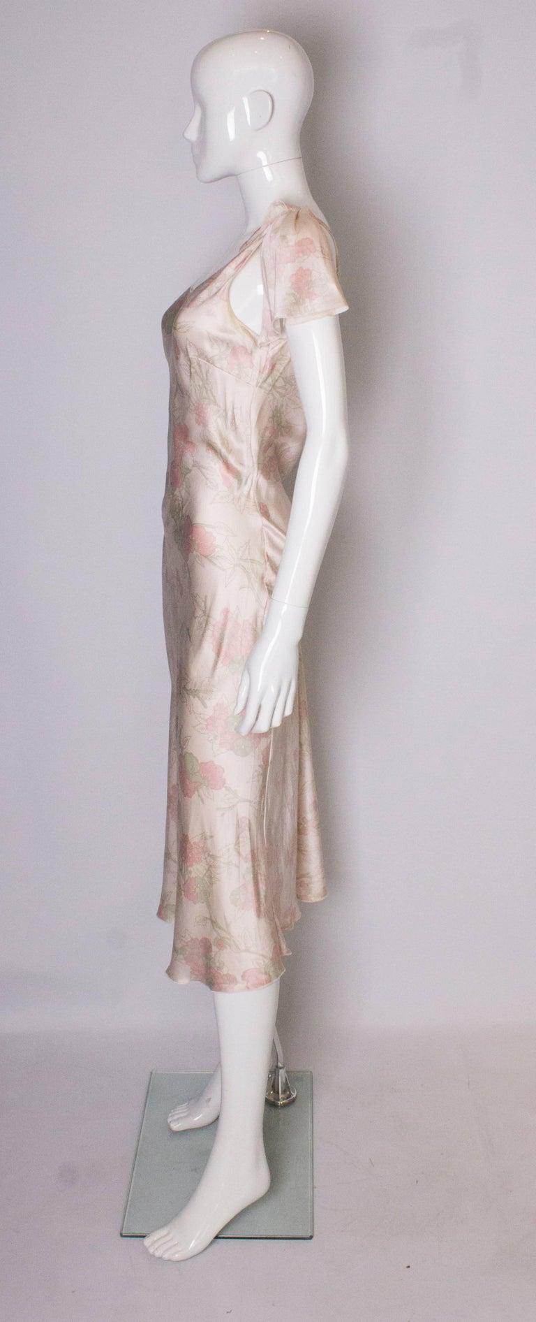 Women's Vintage Ungaro Silk Slip Dress or Nightdress For Sale
