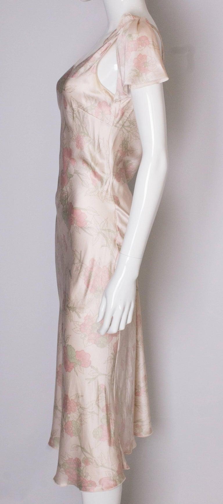 Vintage Ungaro Silk Slip Dress or Nightdress For Sale 1